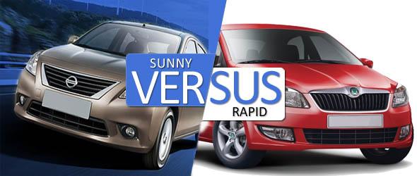 Sunny vs rapid