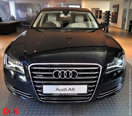 Audi A8 India launch on January 10, 2011