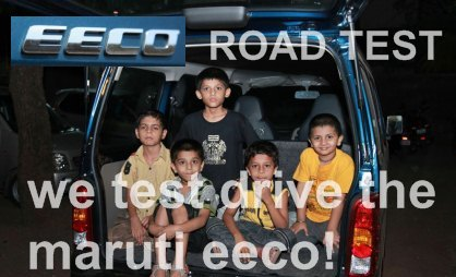 Maruti Suzuki Eeco – what the hell is that?