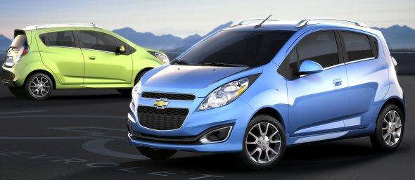 Chevrolet Beat EV: See it in April 2011!