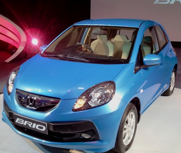 honda brio launch