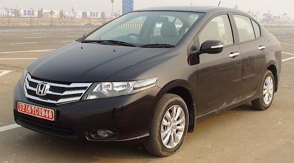honda city front left