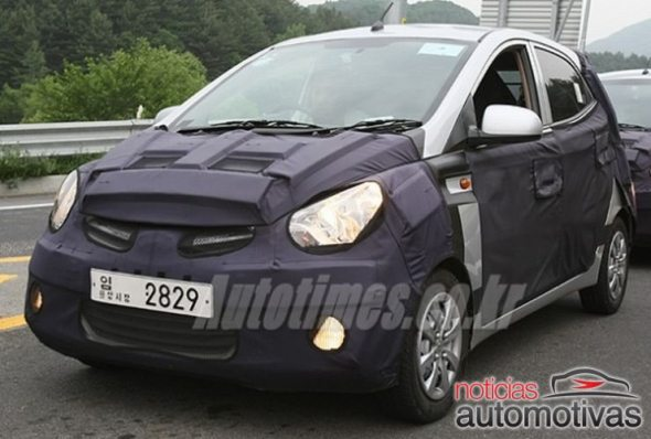Hyundai HA small car spotted testing in Korea