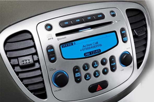 hyundai i10 audio system