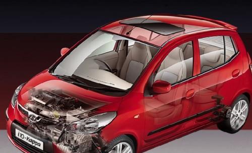 Hyundai i10 1.2 Kappa small car in 3 variants - Magna ...
