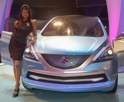 Maruti Suzuki R3 MPV concept unveiled at Auto Expo 2010