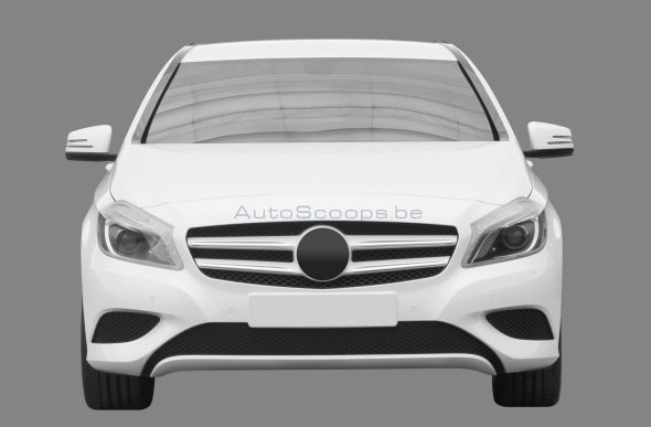 Mercedes Benz A-Class for India: Here's what it looks like!