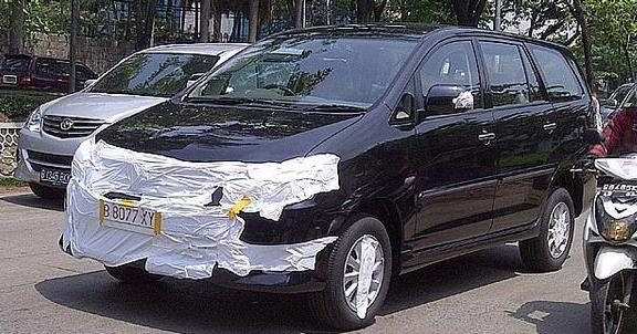 Face-lifted Toyota Innova in India likely by mid 2012