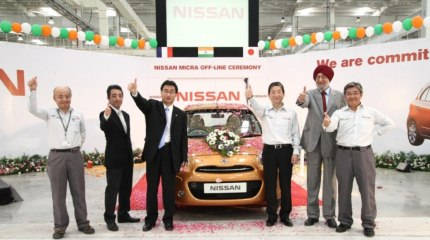 Nissan Micra production begins