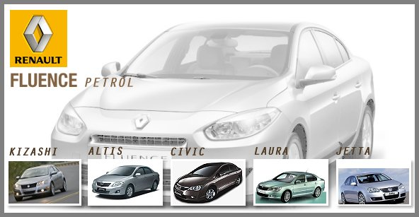 Can the Renault Fluence petrol race ahead in the market?