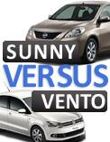 Nissan Sunny diesel versus Volkswagen Vento diesel!