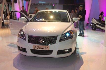 Suzuki Kizashi at Auto Expo 2010, launch in an year