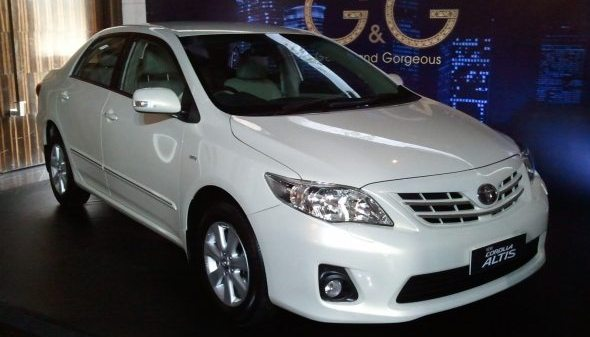 Toyota Recalls Corolla Altis To Replace Faulty Drive Shafts