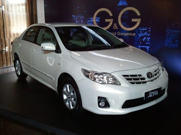 New Toyota Altis automatic launched at Rs.13.76 lakh!