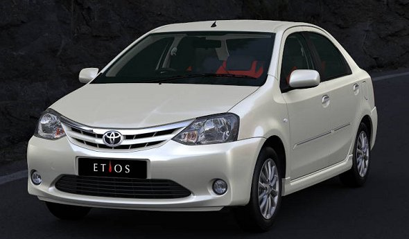 Toyota Etios launched: 4 variants, prices start at Rs. 4.96 lakh