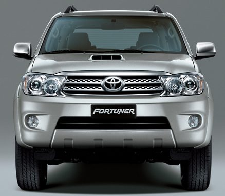 Toyota Fortuner SUV in India