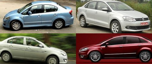 User experiences: Fiat Linea Vs Maruti SX4 Vs VW Vento Vs Verna diesels