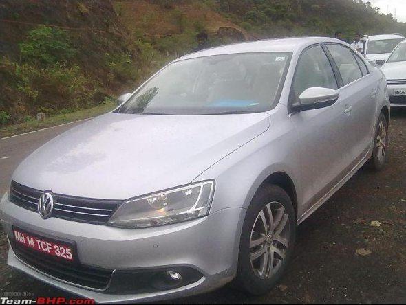 New Volkswagen Jetta caught testing in Mumbai