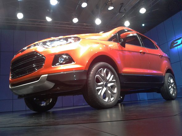 ford ecosport suv for india design