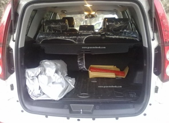 Haval 5 testing bootspace