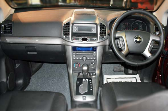 chevrolet captiva interiors