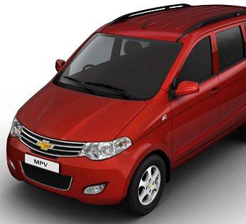 Chevrolet Enjoy MPV spotted testing in Mumbai