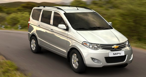 chevrolet enjoy mpv photo gallery