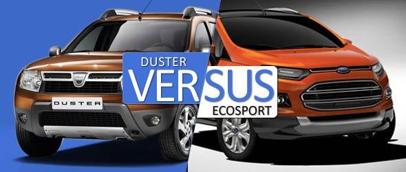 renault duster vs ford ecosport comparison picture
