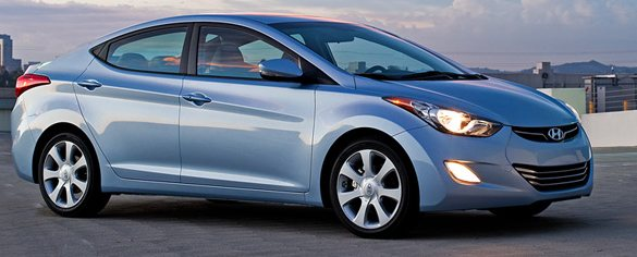 hyundai elantra side profile photo