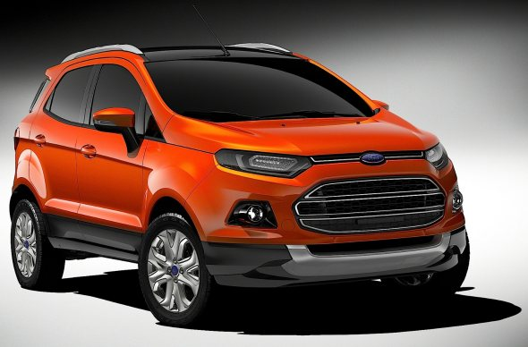 ford ecosport suv photo