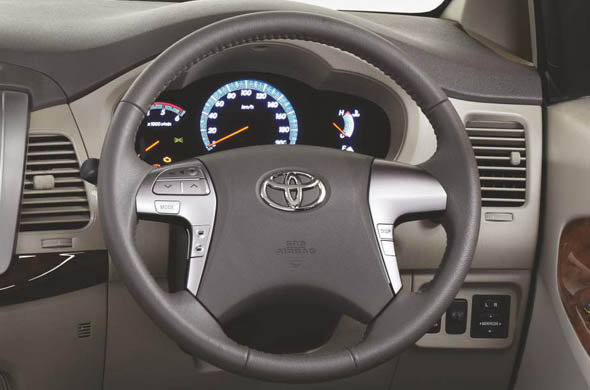 innova steering mounted audio controls