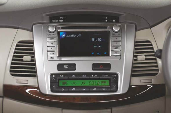 innova touch screen audio system