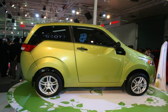 mahindra reva photo gallery