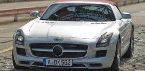 mercedes benz sls amg roadster feat