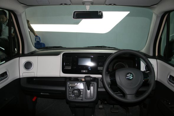 maruti suzuki mr wagon interior photo auto expo photo
