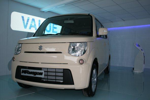 maruti suzuki mr wagon front photo from auto expo 2012