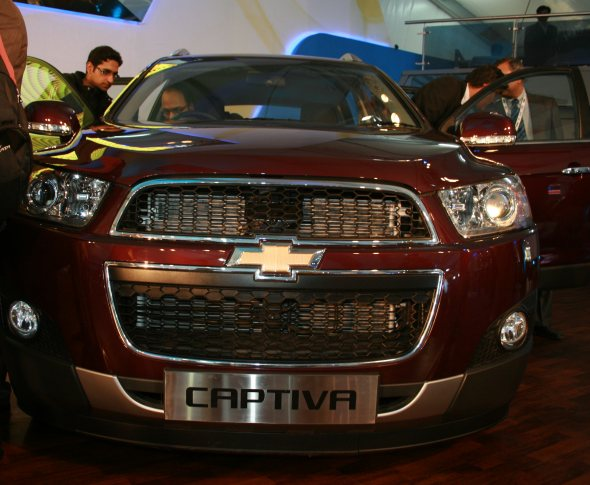 new chevrolet captiva photo
