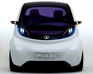 Tata Pixel Concept at the 2012 Delhi Auto Expo: Photo gallery