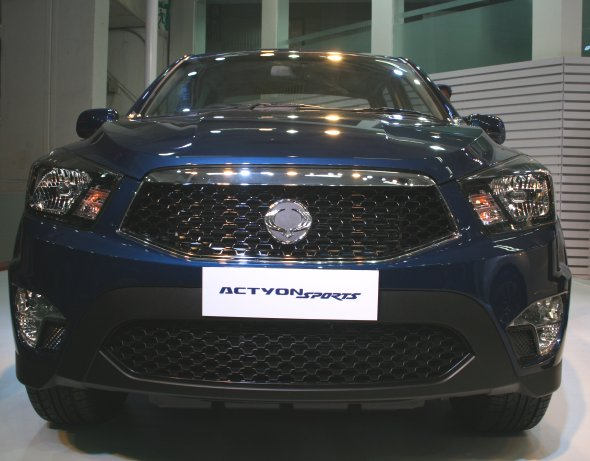 ssangyong actyon sports photo