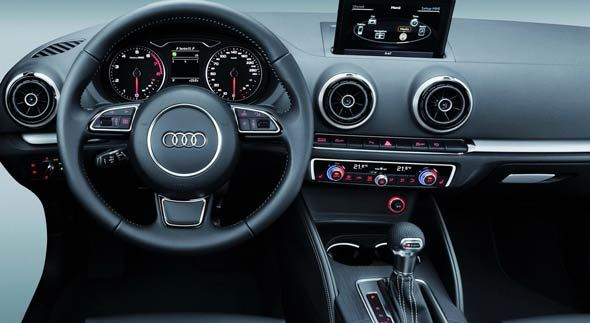 audi a3 sophisticated features