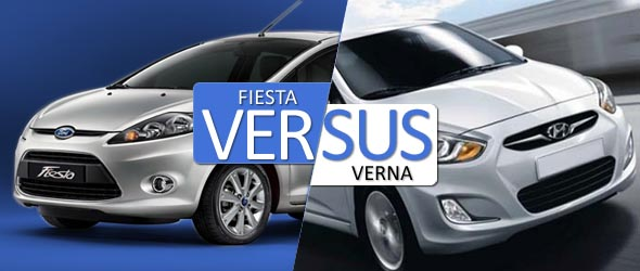 fiesta vs verna comparison