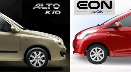 Hyundai Eon or Maruti Suzuki Alto K10; what should you buy?