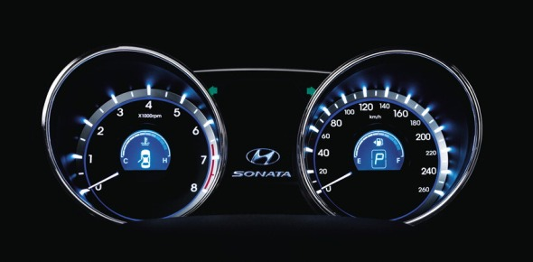 sonata instrument panel