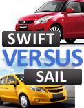 Maruti Suzuki Swift versus the upcoming Chevrolet Sail!