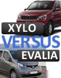 Nissan Evalia vs. Mahindra Xylo: Comparison