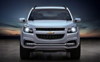 2012 chevrolet trailblazer front