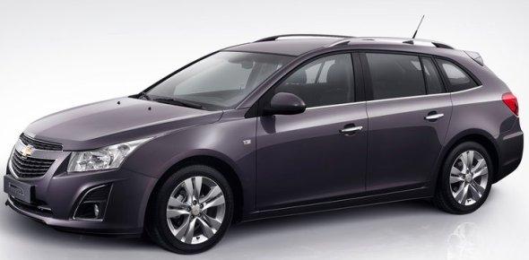 Chevrolet cruze facelift front