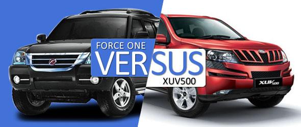 force one vs xuv 500