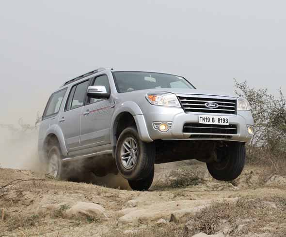 Complete list of four wheel drive SUVs in India