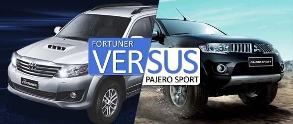 fortuner vs pajero comparison